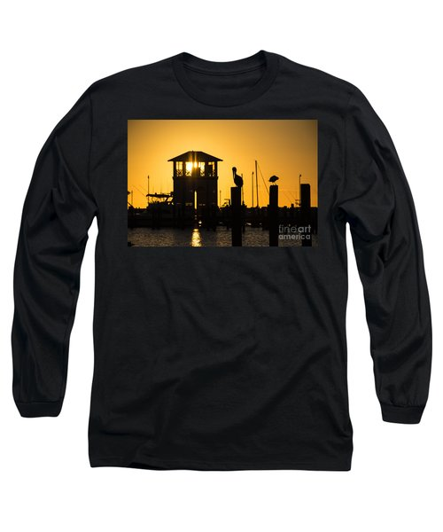 New Day Long Sleeve T-Shirt by Brian Wright