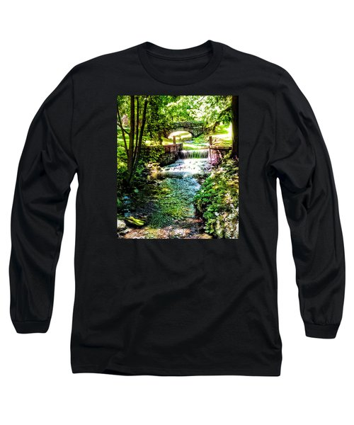 Long Sleeve T-Shirt featuring the photograph New England Serenity by Kathy Kelly