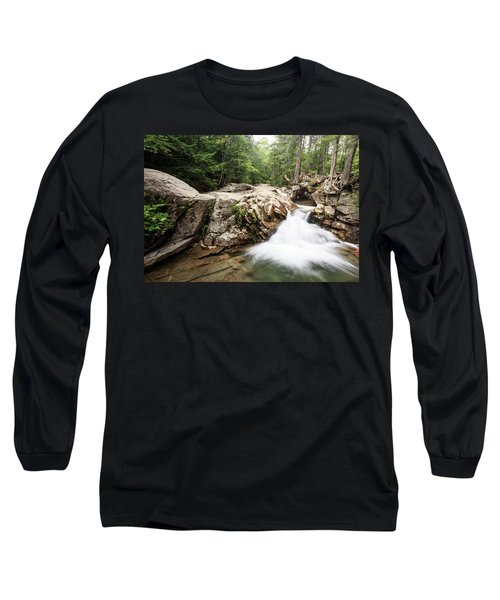New England Waterfall Long Sleeve T-Shirt