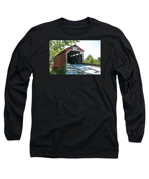 New Germantown Covered Bridge Long Sleeve T-Shirt