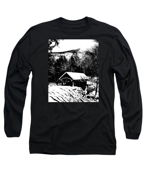 New Hampshire Covered Bridge Long Sleeve T-Shirt