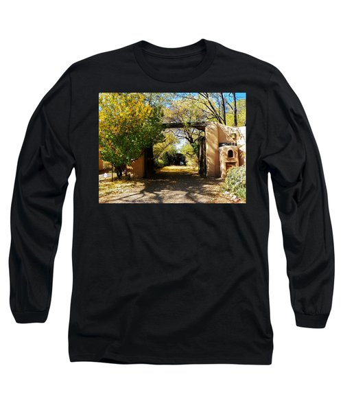 New Mexico Adobe Long Sleeve T-Shirt