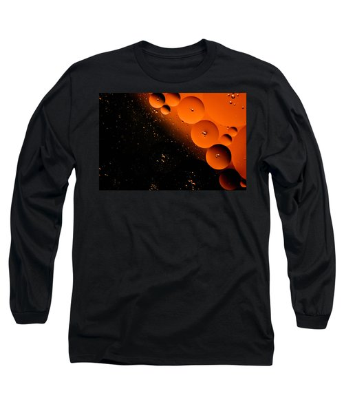 New Moon Cluster Long Sleeve T-Shirt by Bruce Pritchett
