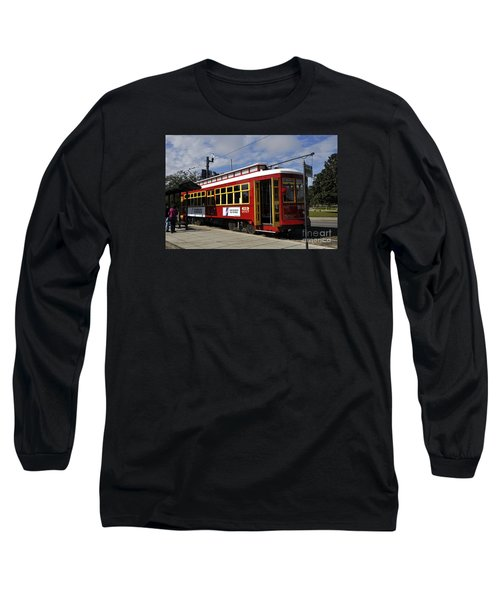 New Orleans Street Car Long Sleeve T-Shirt