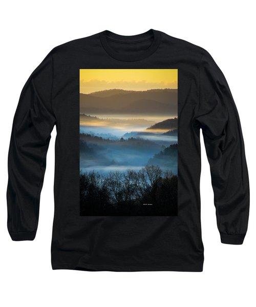 New River Fog Long Sleeve T-Shirt