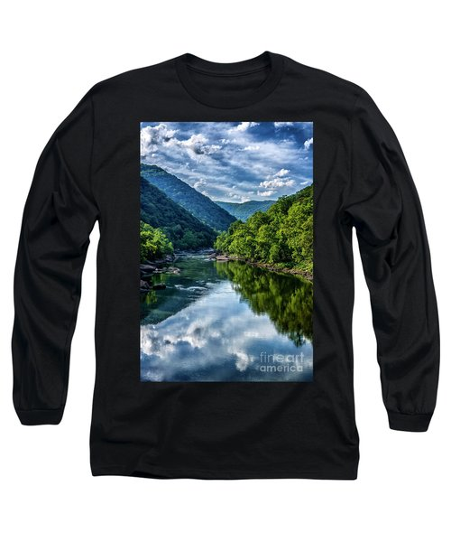 New River Gorge National River 3 Long Sleeve T-Shirt