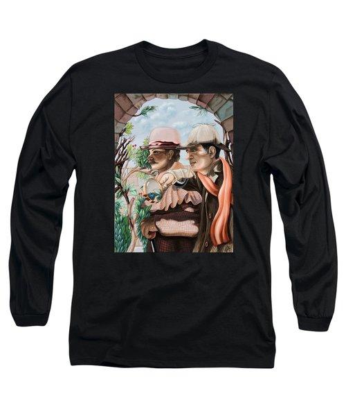 New Story By Sir Arthur Conan Doyle About Sherlock Holmes Long Sleeve T-Shirt