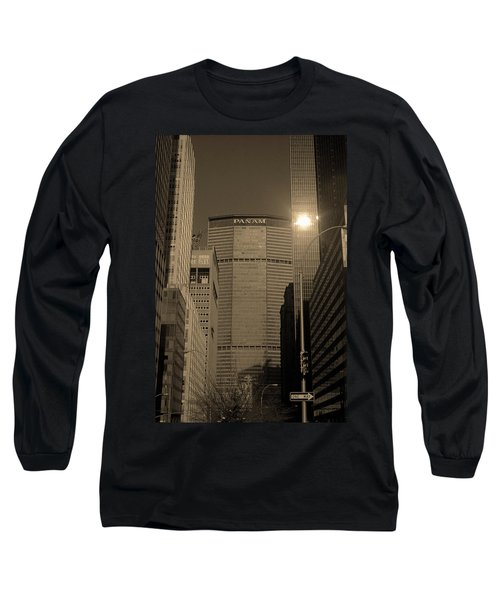 New York City 1982 Sepia Series - #7 Long Sleeve T-Shirt