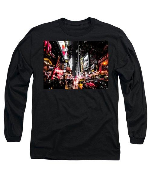 New York City Night II Long Sleeve T-Shirt