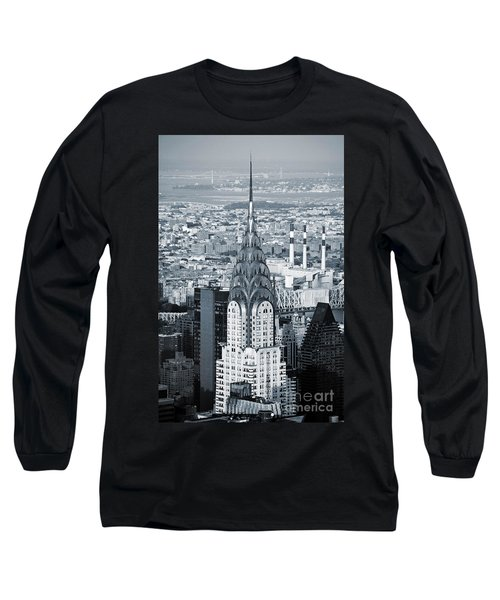 New York City - Usa - Chrysler Building Long Sleeve T-Shirt
