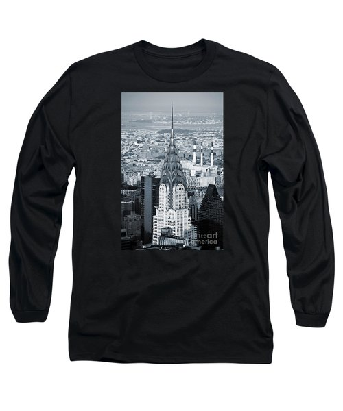 New York City - Usa - Chrysler Building Long Sleeve T-Shirt