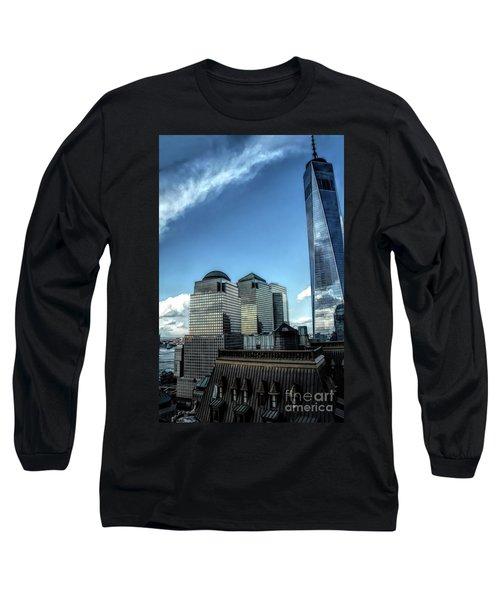 New York Financial District Long Sleeve T-Shirt