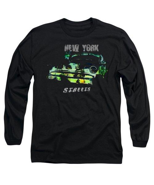 New York Streets Long Sleeve T-Shirt