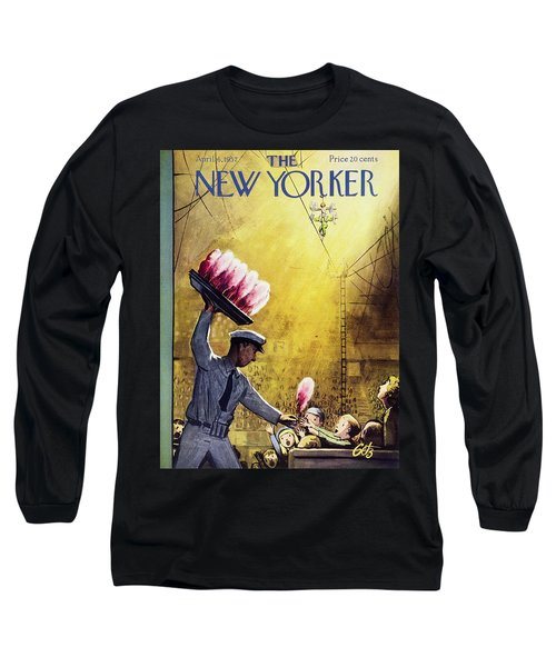 New Yorker April 6 1957 Long Sleeve T-Shirt