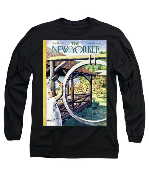 New Yorker August 22 1953 Long Sleeve T-Shirt