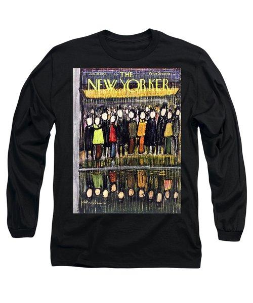 New Yorker January 10, 1948 Long Sleeve T-Shirt