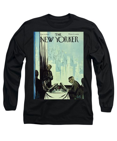 New Yorker January 16 1960 Long Sleeve T-Shirt