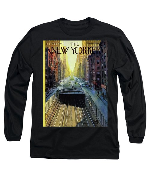 New Yorker November 12 1960 Long Sleeve T-Shirt