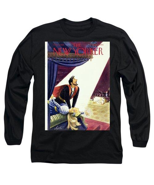 New Yorker October 25 1952 Long Sleeve T-Shirt
