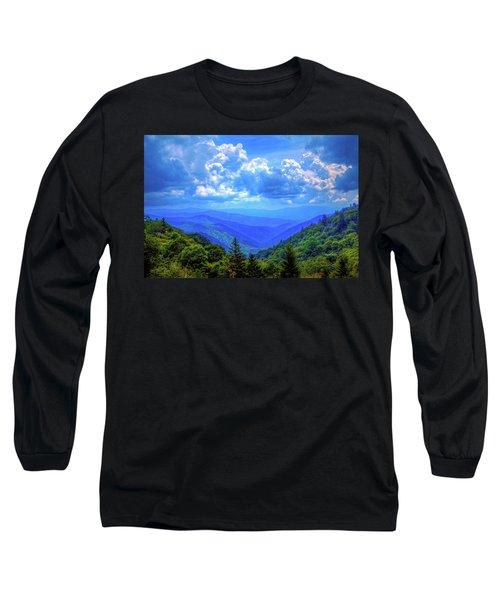 Newfound Gap Long Sleeve T-Shirt by Dale R Carlson