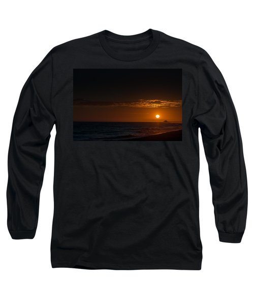 Newport Beach Sunset Long Sleeve T-Shirt