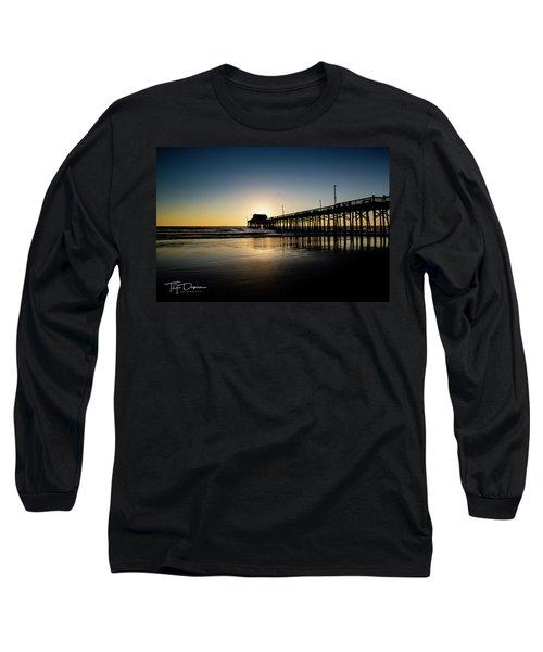Newport Pier Long Sleeve T-Shirt