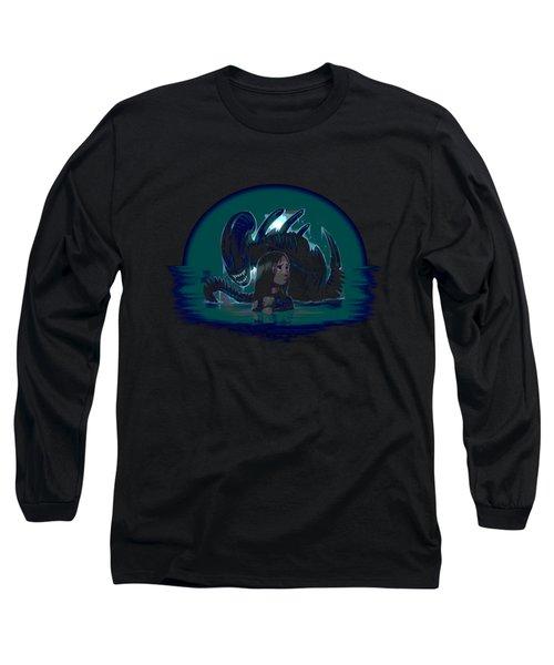 Newt In Danger Long Sleeve T-Shirt