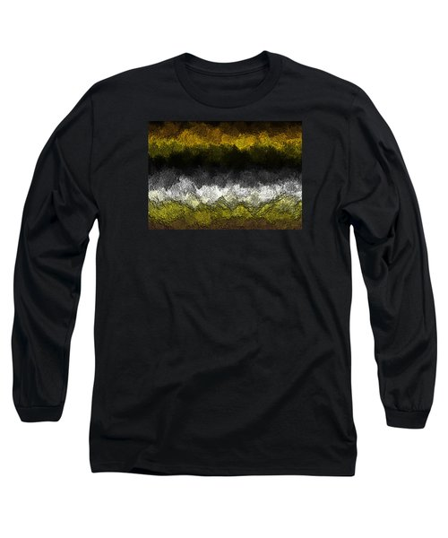 Long Sleeve T-Shirt featuring the digital art Nidanaax-glossy by Jeff Iverson