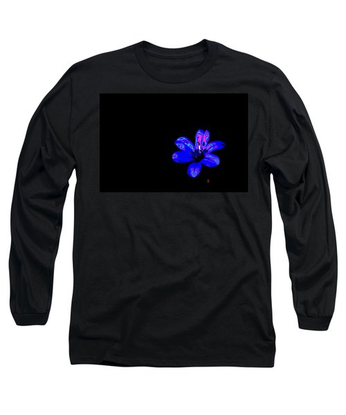 Night Blue Long Sleeve T-Shirt