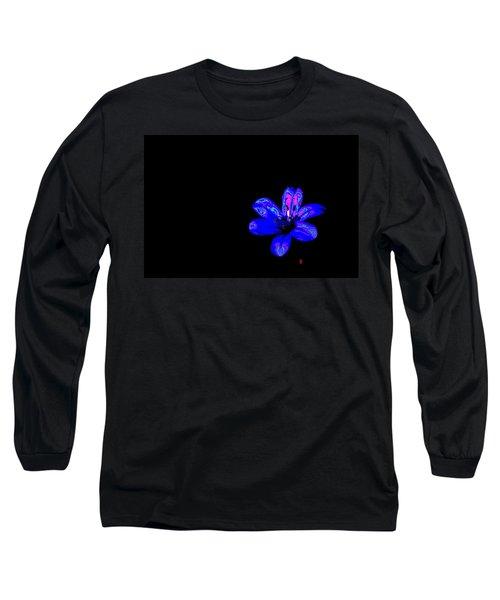 Night Blue Long Sleeve T-Shirt by Richard Patmore