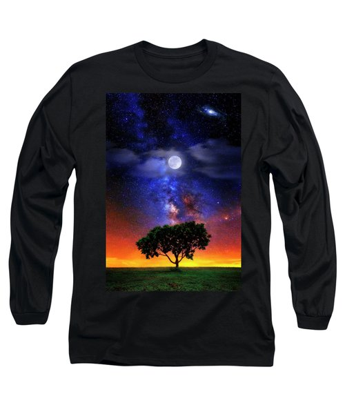 Night Colors Long Sleeve T-Shirt