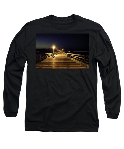 Night Fishin' Long Sleeve T-Shirt