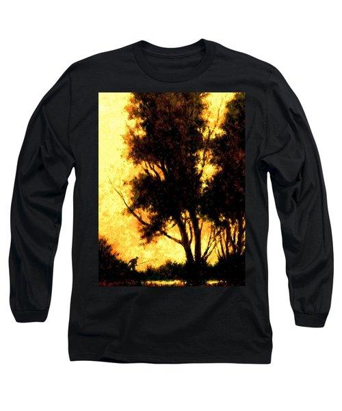 Night Fishing Long Sleeve T-Shirt