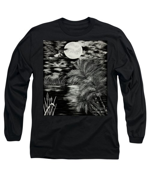 Night Flight Long Sleeve T-Shirt