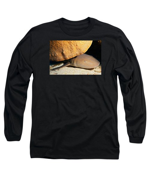 Nocturnal Hunter Long Sleeve T-Shirt by Aaron Whittemore
