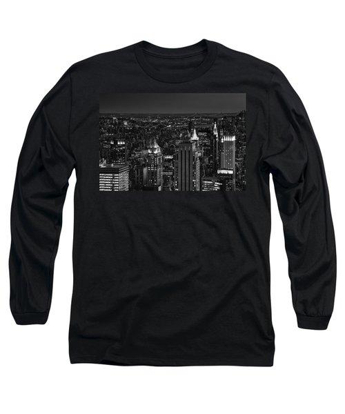 Night In Manhattan Long Sleeve T-Shirt