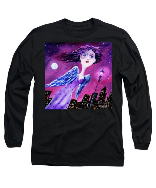 Night In The City Long Sleeve T-Shirt