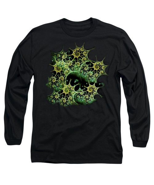 Night Lace Long Sleeve T-Shirt