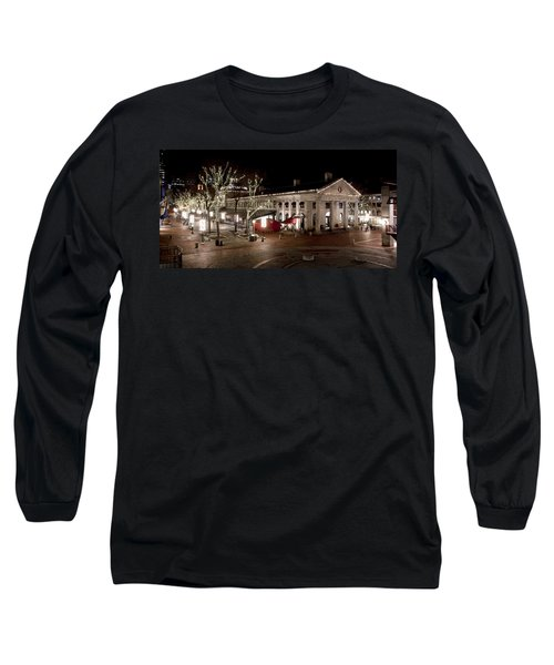 Night Market Long Sleeve T-Shirt by Greg Fortier