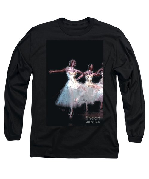 Night Of The Ballet Long Sleeve T-Shirt