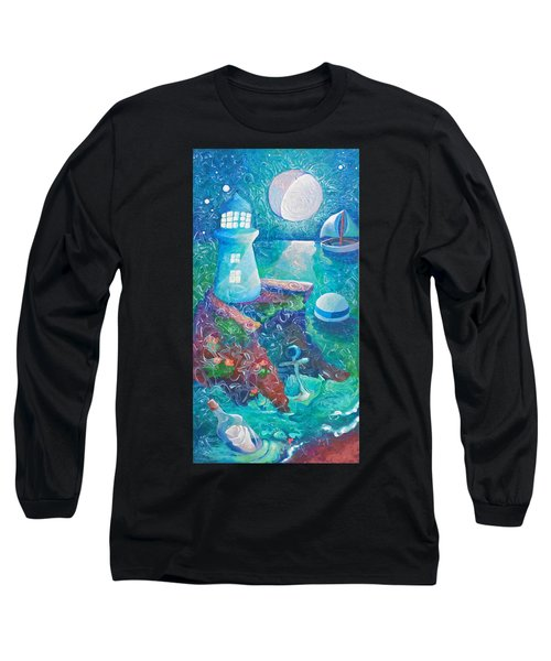 Night Out At Sea Long Sleeve T-Shirt