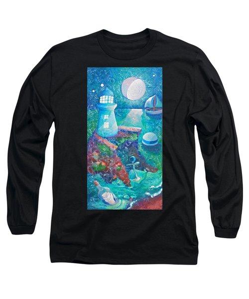 Night Out At Sea Long Sleeve T-Shirt