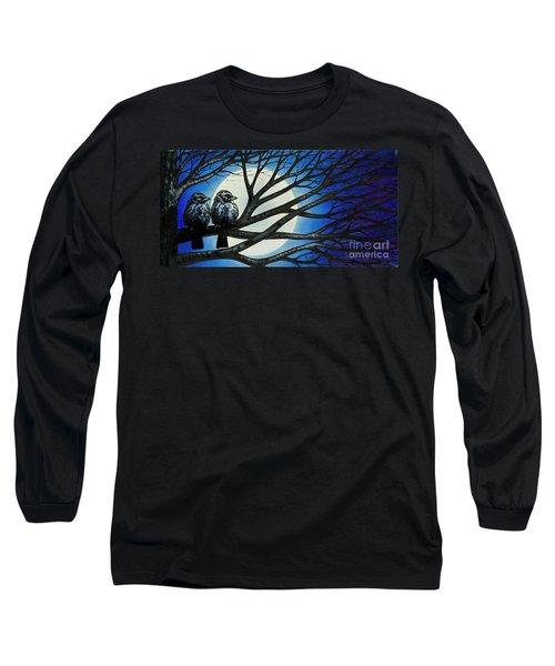 Night Perch Long Sleeve T-Shirt