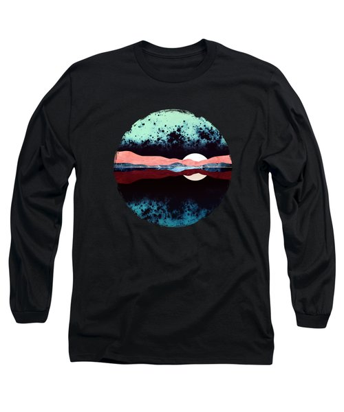 Night Sky Reflection Long Sleeve T-Shirt