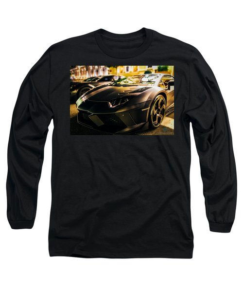 Night Soul Long Sleeve T-Shirt by Cesare Bargiggia