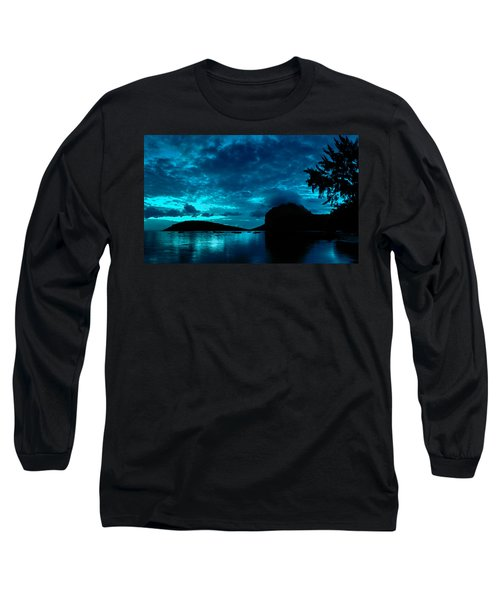 Nightfall In Mauritius Long Sleeve T-Shirt