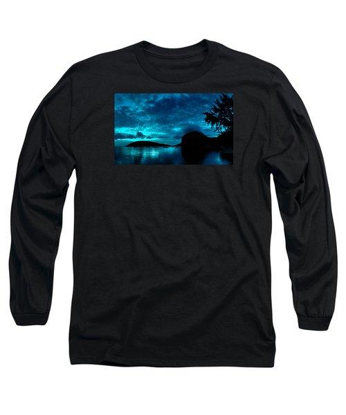 Nightfall In Mauritius Long Sleeve T-Shirt