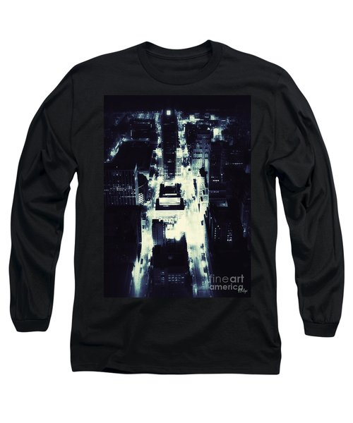 Blue Pill Long Sleeve T-Shirt