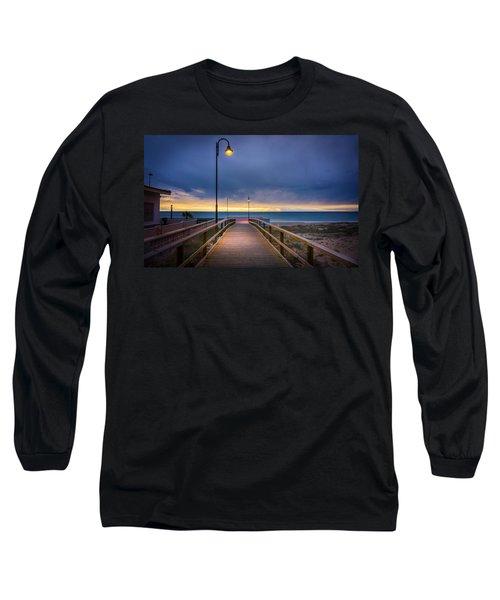 Nighttime Walk. Long Sleeve T-Shirt