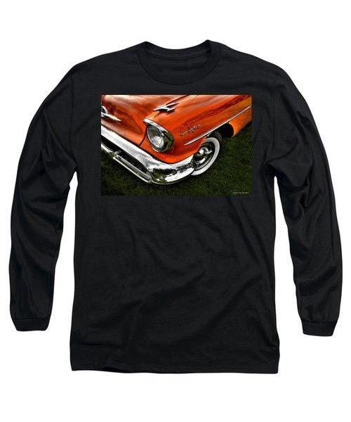 Nintey Eight Long Sleeve T-Shirt by Jerry Golab